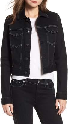 7 For All Mankind Crop Denim Jacket