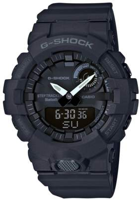 G-Shock BABY-G Steptracker Bluetooth(R) Enabled Resin Strap Watch, 49mm