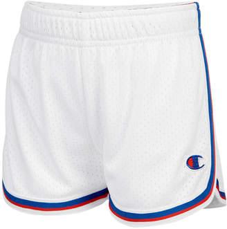Champion Mesh Fold-Over Shorts, Toddler Girls