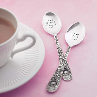 The Cutlery Commission Personalised Silver Plated Tea Spoon