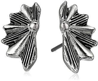 Sam Edelman Etched Fan Stud Earrings