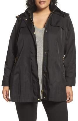 Kristen Blake Packable Fit & Flare Raincoat
