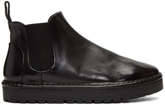 Marsèll Black Sancrispa Alta Beatles Boots