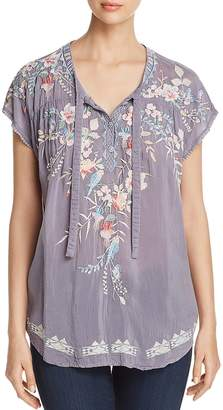 Johnny Was Dreaming Embroidered Blouse