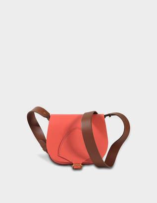 Burberry Mini Satchel Bag in Racing Green Supple Leather