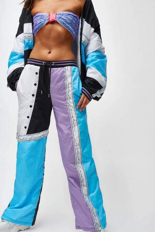 **Blue and Lilac Shell Suit
