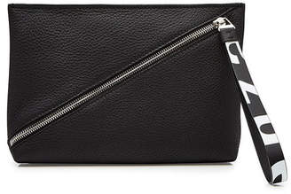Proenza Schouler Zip Pouch Leather Clutch