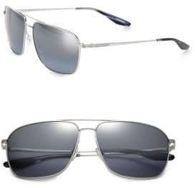 Barton Perreira 61MM Troubadour Aviator Sunglasses
