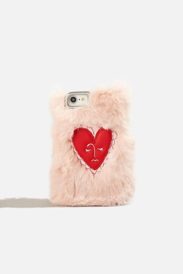 Skinny Dip Heart Face Case - iPhone 6/6S/7 8 by Skinnydip