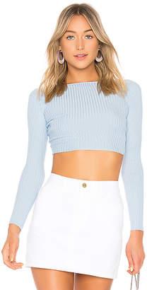 LPA Twist Crop Sweater