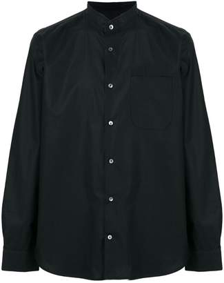 Mauro Grifoni crew neck button shirt