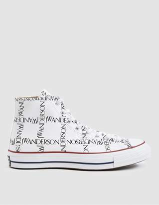 Converse J.W.A. Logo Grid Chuck Taylor 70 High Sneaker in White