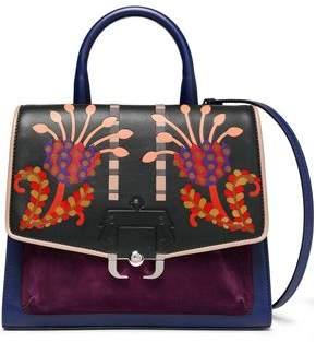 Paula Cademartori Printed Leather Shoulder Bag
