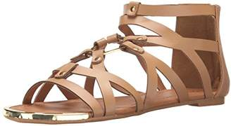 Qupid Women's Lana-402 Gladiator Sandal