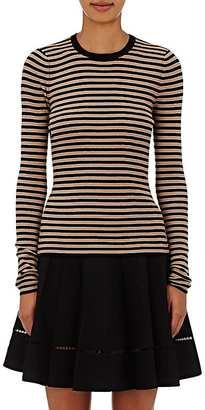 A.L.C. Women's Harmon Wool-Blend Striped Sweater $295 thestylecure.com