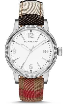 Burberry BU7824 38mm Stainless Steel Case Crocodile Mineral Women's Watch