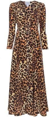 We Are Leone Leopard print silk jacket