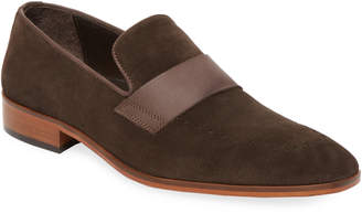 Wall + Water Men's Suede Loafer