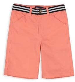 Andy & Evan Little Boy's Belted Twill Shorts