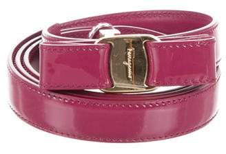 Salvatore Ferragamo Reversible Miss Vara Belt w/ Tags