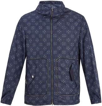 Alexander McQueen Skull-print hooded jacket