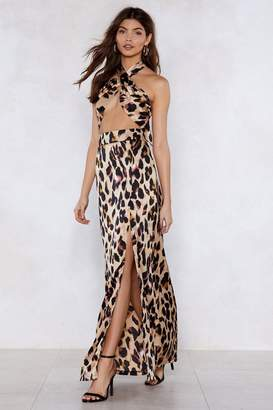 Nasty Gal So Fierce Leopard Top and Maxi Skirt