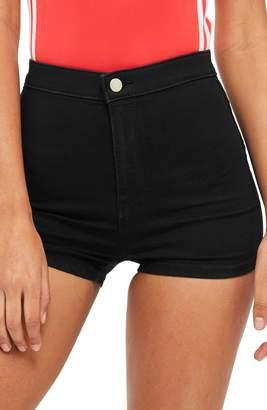 Topshop Joni High Waist Denim Shorts