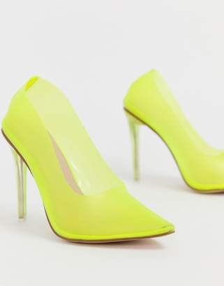 6df1c741d6a Public Desire Yellow Heels - ShopStyle UK