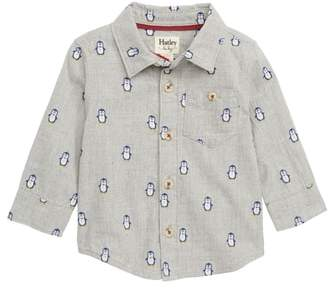 Hatley Penguin Button Shirt