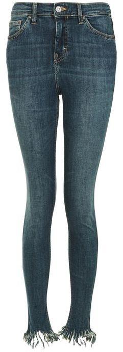 TopshopTopshop Moto frayed hem jamie jeans