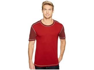 Agave Denim Brett Short Sleeve Color Block Crew Tee Men's T Shirt