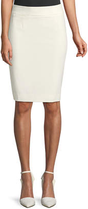 Iconic American Designer Straight Stretch Mini Skirt