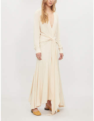 Jacquemus La Robe Viavelez crepe dress