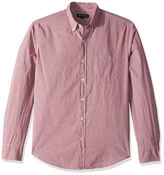 J.Crew Mercantile Men's Slim-Fit Long-Sleeve Micro Gingham Shirt
