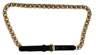 Gucci Chain-Link Buckle Belt