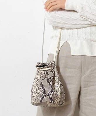 Rive Droite (リヴ ドロア) - リヴドロワ 本革パイソンミニ巾着BAG