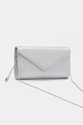 Ardene Occasion Glitter Envelope Clutch