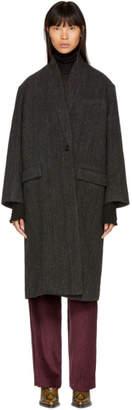 Etoile Isabel Marant Black Henlo Coat