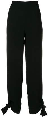 Lee Edeline high-waist fitted trousers