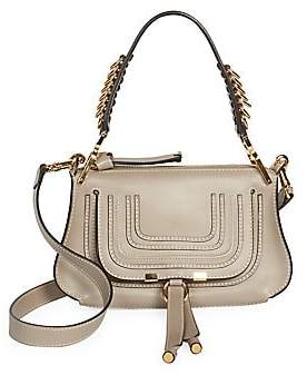 Chloé Women's Small Marcie Leather Saddle Bag
