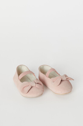 H&M Suede ballet pumps