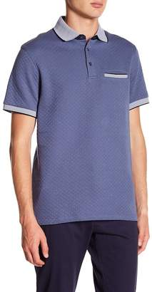 7 Diamonds Lewis Quilted Polo