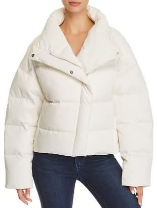 Theory Offset Puffer Jacket