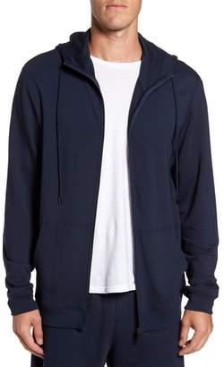 Daniel Buchler Modal Blend Zip Hoodie