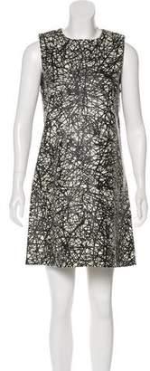 Balenciaga Leather Mini Dress