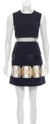 Versace Silk Mini Dress w/ Tags