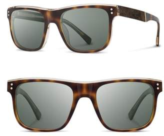 Shwood Monroe 55mm Polarized Sunglasses