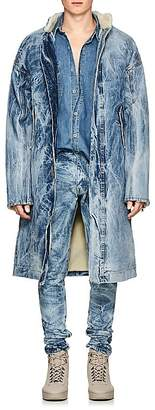 Fear Of God Men's Acid-Washed Denim Deck Coat
