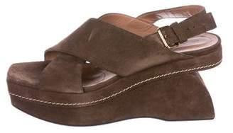 Marni Suede Slingback Sandals