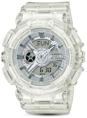 Casio G-Shock Clear Dial Digital Watch, 43.4mm